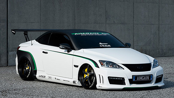 Pic on lexus is300 wide body kit